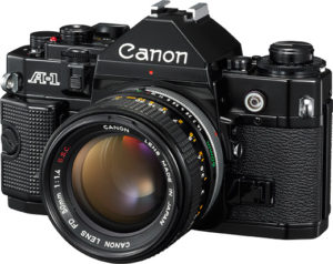 The Canon A-1 was the flagship camera of the A-series